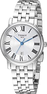 Tissot Analogue Classic Silver Strap Women's Wrist Watches - T122.210.11.033.00, T1222101103300
