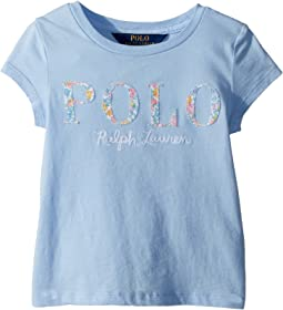Polo Ralph Lauren Kids Floral Polo Jersey T-Shirt (Toddler)