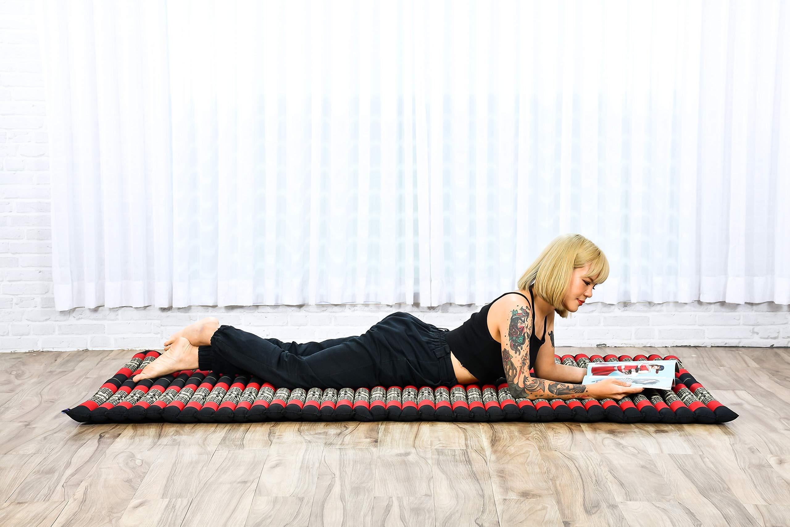 Thailändische Massage Matte aus Kapok