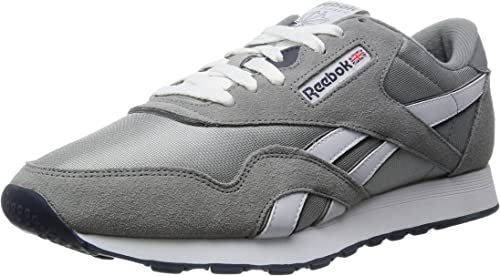 Reebok Classic Nylon, Chaussures de course Garçon, 36088_39 EU_Platinum Jet bleu, 34 EU