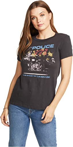 """""""The Police: Ghost In The Machine"""" Gauzy Cotton Tee"""