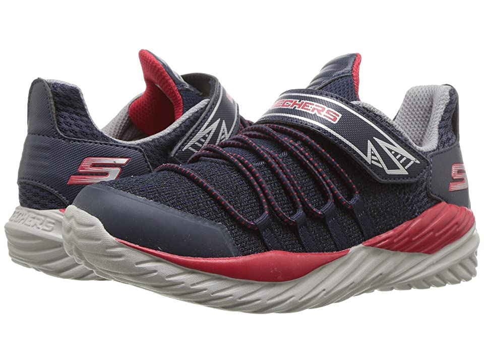 SKECHERS KIDS Nitro Sprint (Little Kid/Big Kid) (Navy/Red) Boy