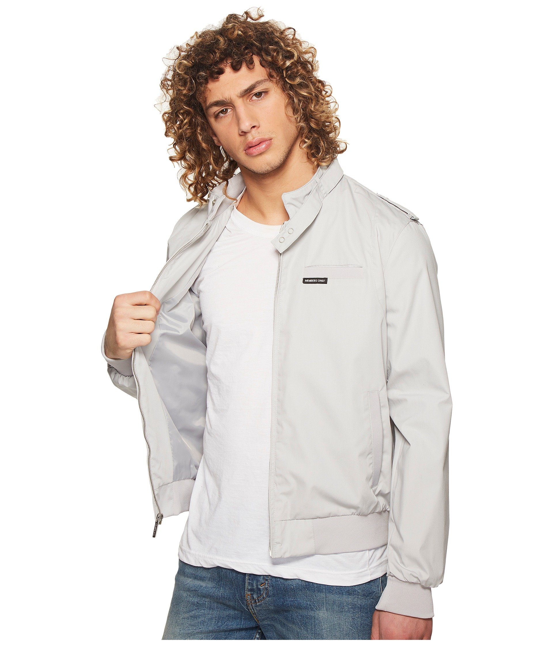Jacket Grey Only Members Light Racer Iconic HZ4HWqp