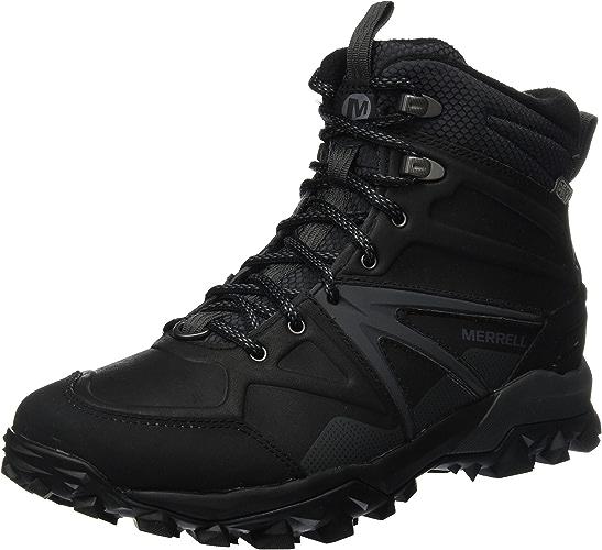 Merrell Capra Glacial Ice+ Mid imperméable, Chaussures de Randonnée Hautes Homme
