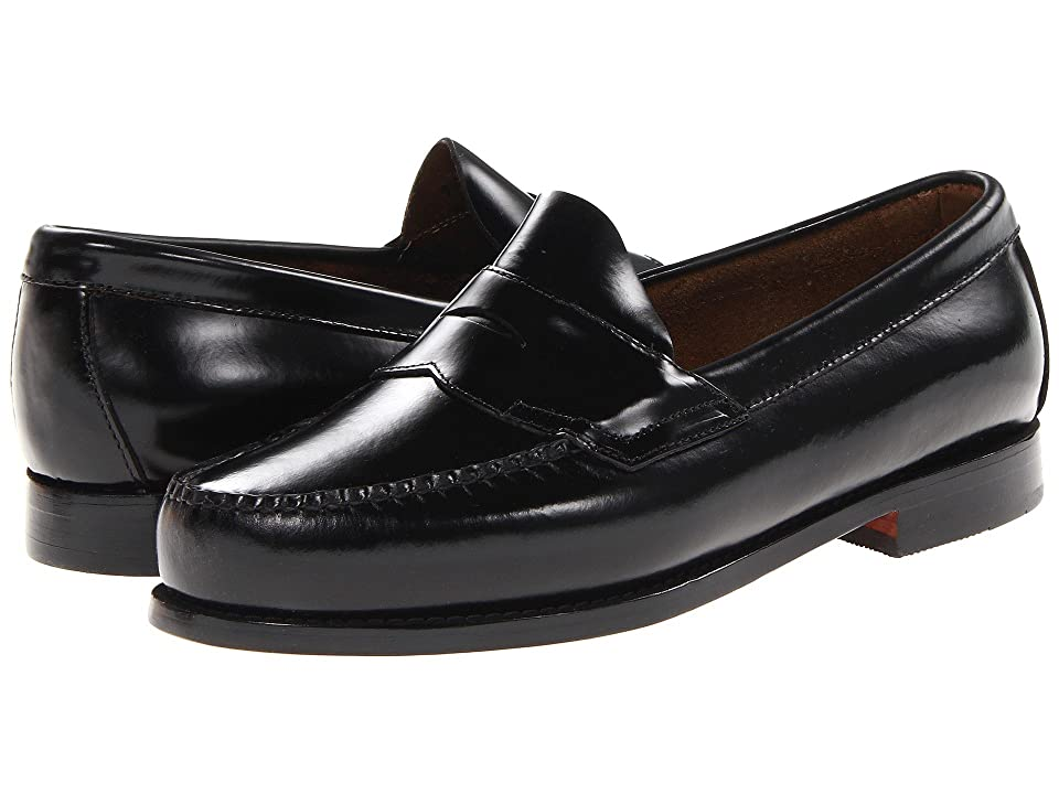 G.H. Bass & Co. Larson Weejuns (Black Box Leather) Men