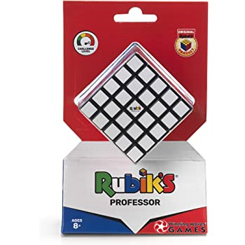 Rubik's Cube   5x5 Professor's Cube Colour-Matching Puzzle, Highly Complex Problem-Solving Toy