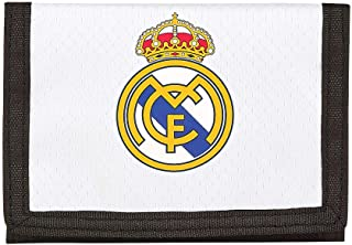 Real Madrid 2018 Porte-Carte de crédit, 12 cm, Blanc (Blanco)