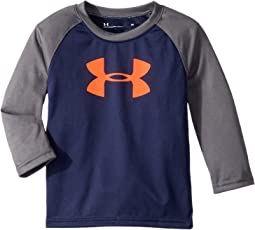 Under Armour Kids - Big Logo Raglan Long Sleeve (Toddler)