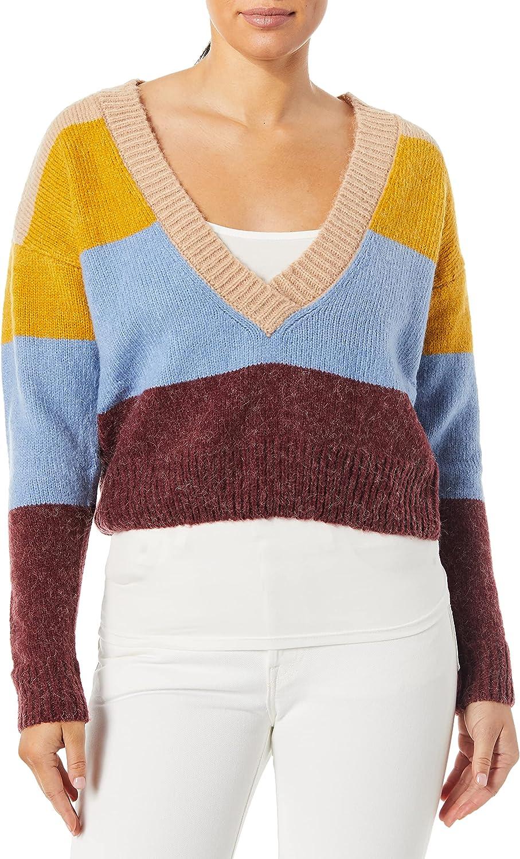 For Love & Lemons Women's Wellesley Stripe Sweater