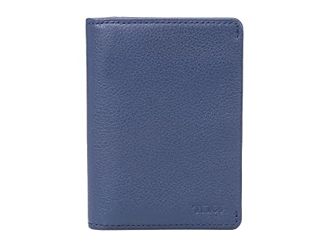 Blue Case Tumi Gusseted Textured Card Ocean Nassau Pw0qz1