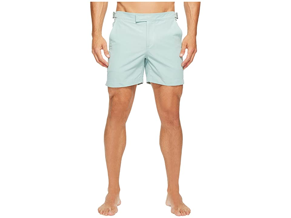 Exley NB 5 Inch Bristol Swim Shorts (Bay) Men's Swimwear