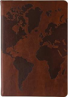 Eccolo World Traveler Style Journal 6x8 Medium Brown