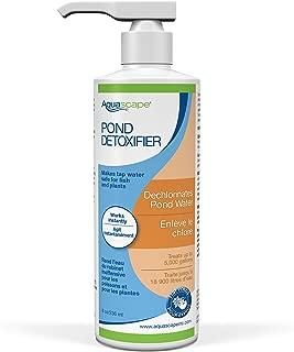 Aquascape Pond Detoxifier Water Treatment, Makes Tap Water Safe, 8-Ounce Bottle | 98876