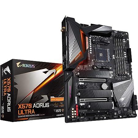GIGABYTE X570 AORUS Ultra (AMD Ryzen 5000/X570/ATX/PCIe4.0/DDR4/USB3.1/Realtek ALC1220-Vb/Fins-Array Heatsink/RGB Fusion 2.0/3xM.2 Thermal Guard/Gaming Motherboard)