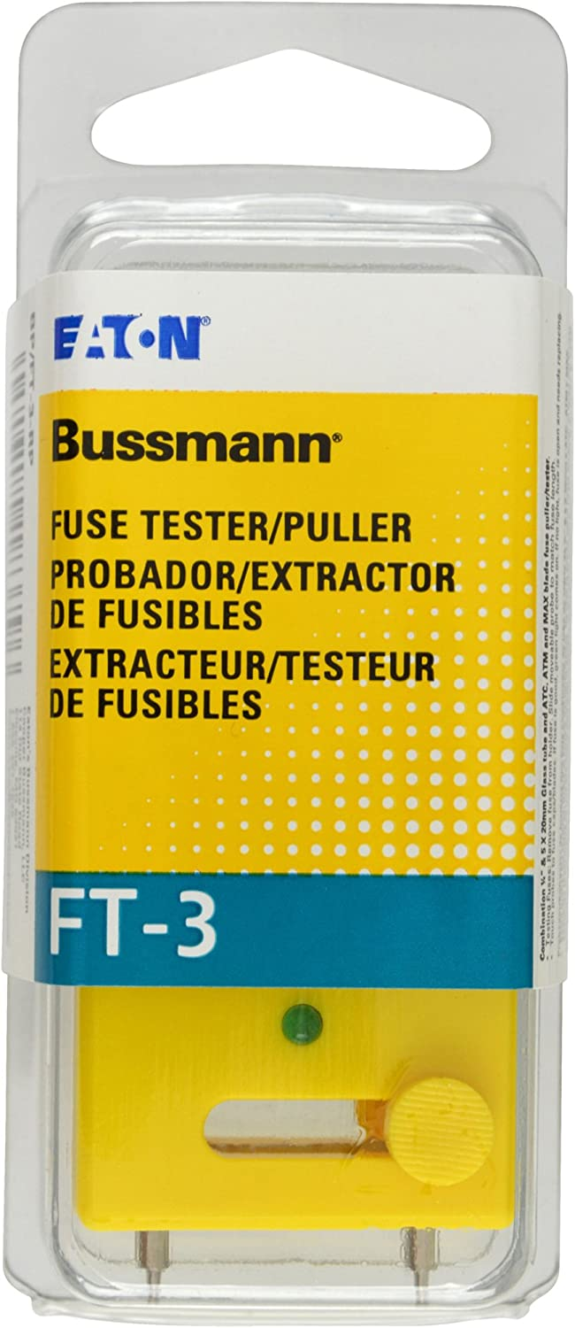 Bussmann BP FT-3-RP Fuse Max 66% OFF Ranking TOP14 Tester Puller and