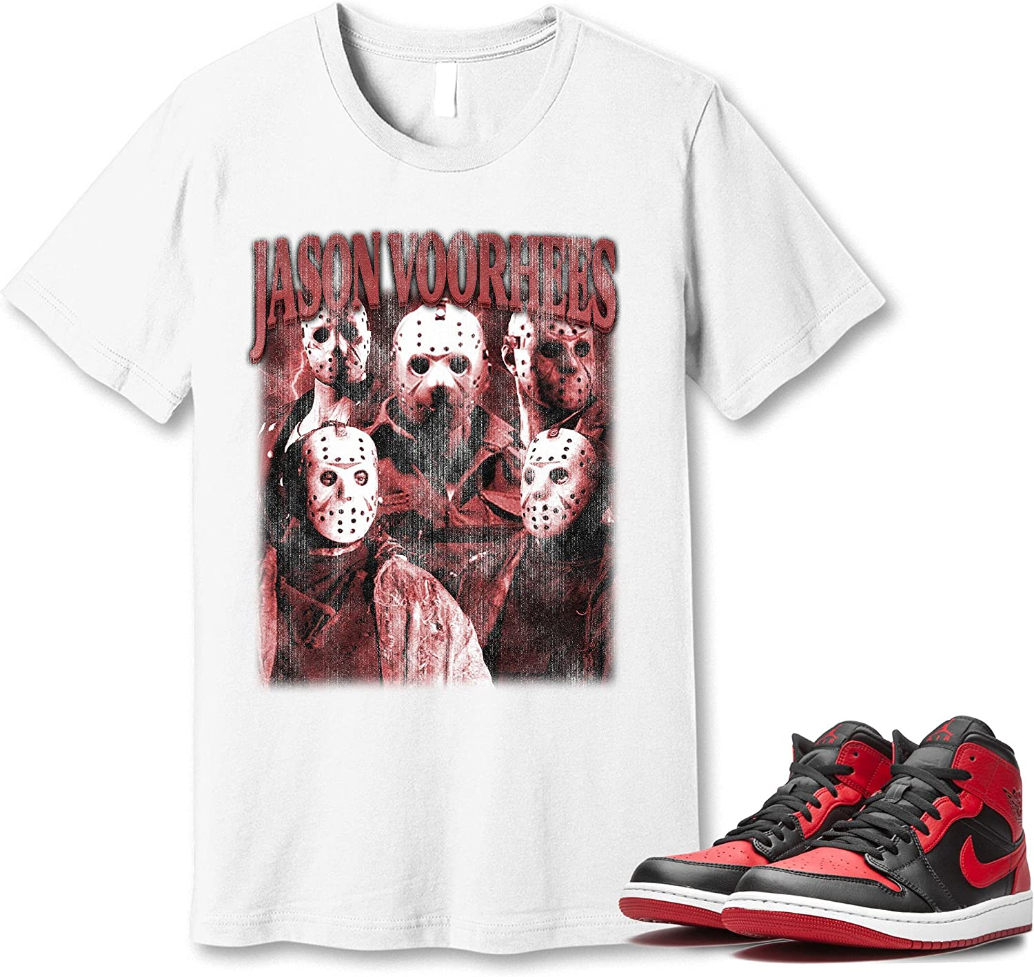 #Jason #Voorhees T-Shirt to Match Fashionable Sneaker Banned OFFicial mail order Snkrs 1 Jordan