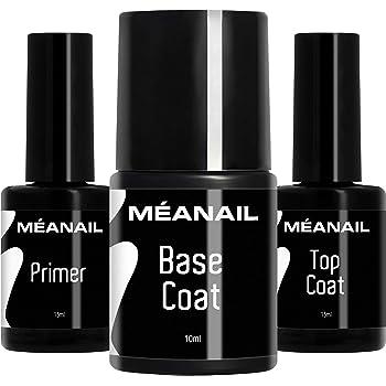Primer Base Top Coat Permanente Uñas Gel UV LED Manicura Pedicura ...