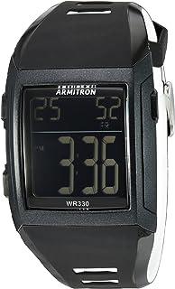 ساعة ارمترون رياضية للرجال بسوار كرونوغراف 40/8261