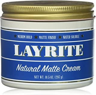 Layrite Natural Matte Cream 10.5 Ounce