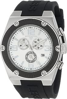 Men's 30025-02S-BB Throttle Chronograph Silver Dial Watch