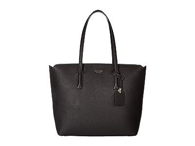 Kate Spade New York Margaux Large Tote (Black) Handbags