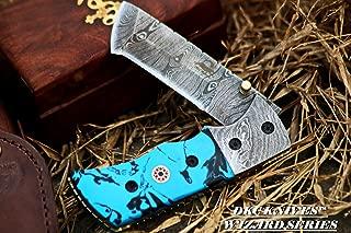 DKC Knives (12 7/18) DKC-27-CB-x Wizard Caribbean Blue 7
