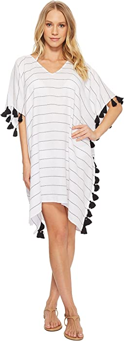 Seafolly Bali Hai Multi Stripe Kaftan Cover-Up