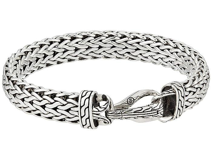 John Hardy  Classic Chain 11 mm. Flat Chain Bracelet (Silver) Bracelet