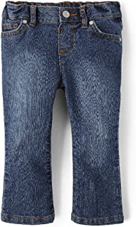 The Children's Place Baby Girls' Bootcut Jean