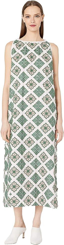 fc35a1e64ba Luxury. Pink. 0. Sportmax. Calotta Cotton Embroidered Dress