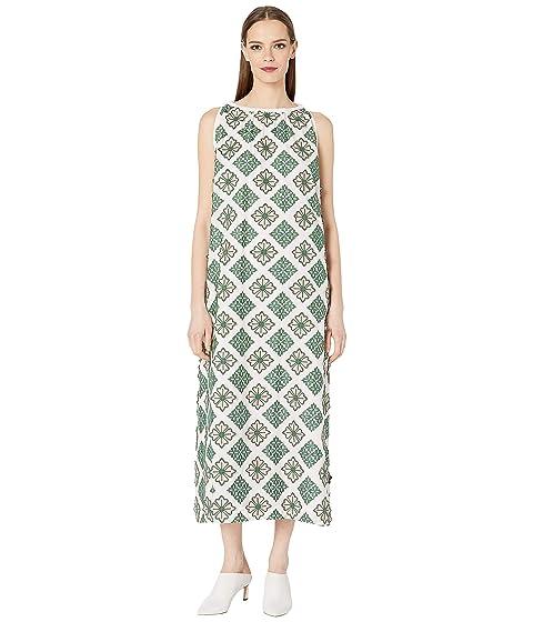 Sportmax Calotta Cotton Embroidered Dress