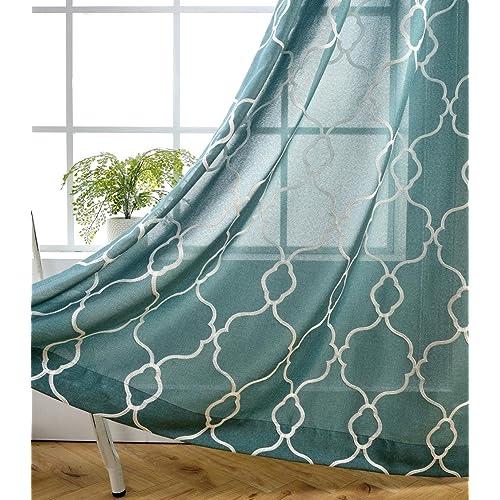 Teal Living Room Decor: Amazon.com