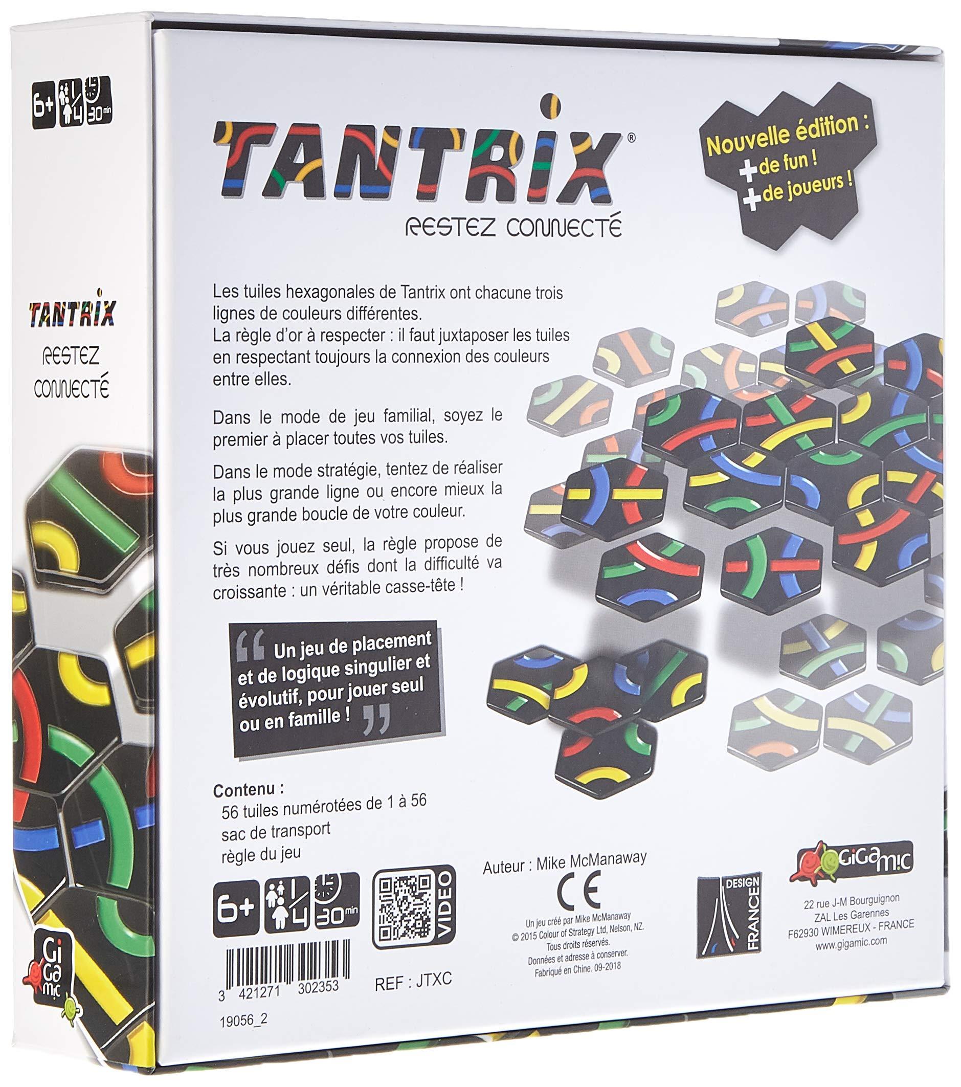 GIGAMIC JTXC Tantrix - Juego de Mesa (en francés): Amazon.es ...