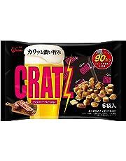 江崎グリコ クラッツ<ペッパーベーコン>(6袋) 102g