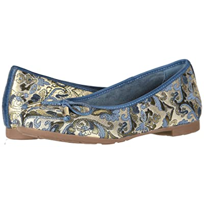 Earth Alina (Blue Multi/Floral Metallic Leather) Women