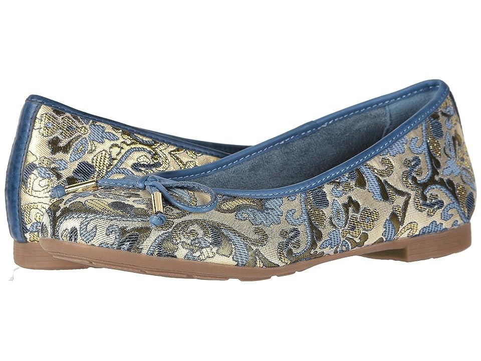 Earth Alina (Blue Multi/Floral Metallic Leather) Women