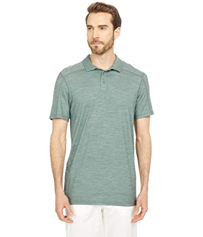 Smartwool Merino Sport 150 Polo (Sage Heather) Men