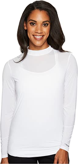 Sunsense® Mandarin Collar Layering Shirt