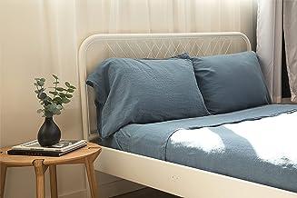 Malmö Linum 100% French Grown Flax Linen Bedsheets Sheet Set Bedding