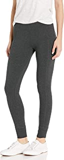 Calvin Klein Women's Premium Performance Double Waistband Moisture Wicking Legging (Standard and Plus)