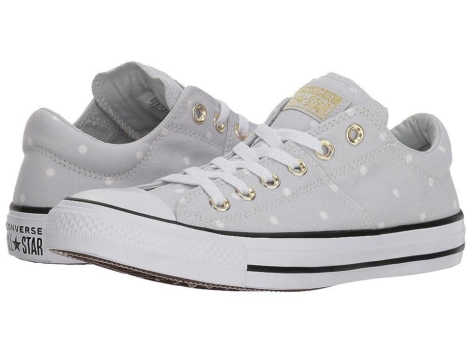 Converse Chuck Taylor(r) All Star(r) Madison Ox Mini Dots (Pure Platinum/Gold/White) Women