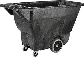 Rubbermaid Commercial Chariot en polyéthylène 204kg Noir