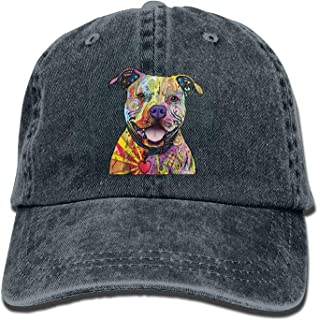 The Mountain Russo Pit Bull Pattern Personalized Adjustable Hat Outdoor Caps