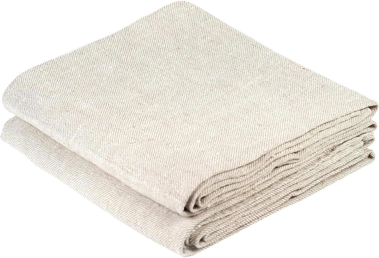 BLESS LINEN Natural Huckaback Memphis Mall Pure Hand Linen Towel Kitchen Selling rankings 16