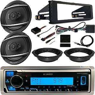 $280 » Harley Davidson FLHT FLHTC FLHTCU Touring Package - Kenwood Digital Media Radio, 2X 6.5 Car Audio Speakers, Dash Radio Ins...