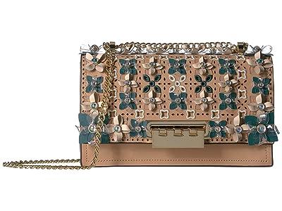ZAC Zac Posen Earthette Chain Shoulder (Latte) Shoulder Handbags