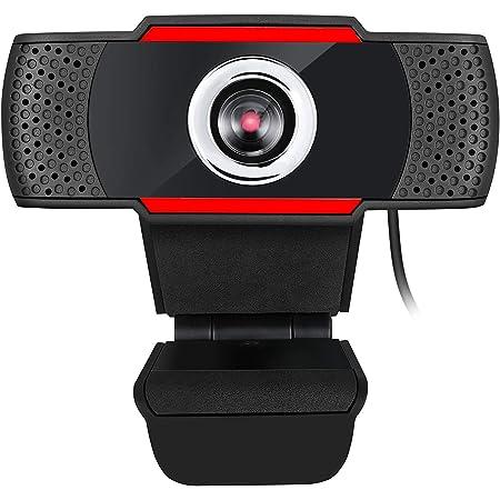 Adesso CyberTrack H3 Webcam 1.2 Megapixel 30 fps USB 2.0 1280x720 Video CMOS Sensor Manual-Focus Microphone for PC & Laptop, Black