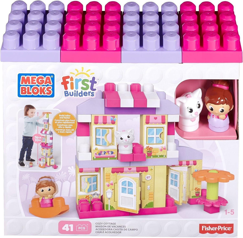 Mattel Mega Bloks First Builders CNG26 - Traumhaus Mdchen, Bau- und Konstruktionsspielzeug