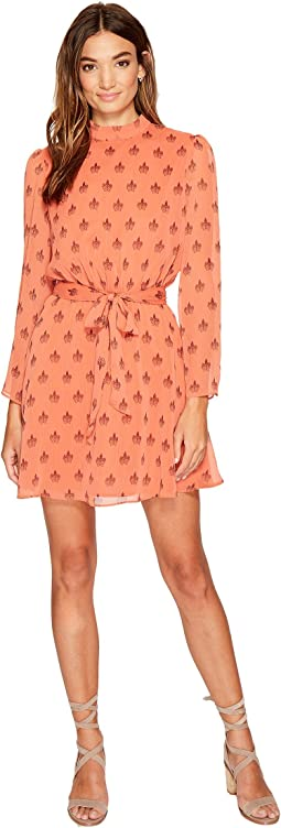 BB Dakota - Tabitha Printed Fit & Flare Dress