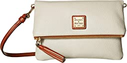 Pebble Fold-Over Zip Crossbody